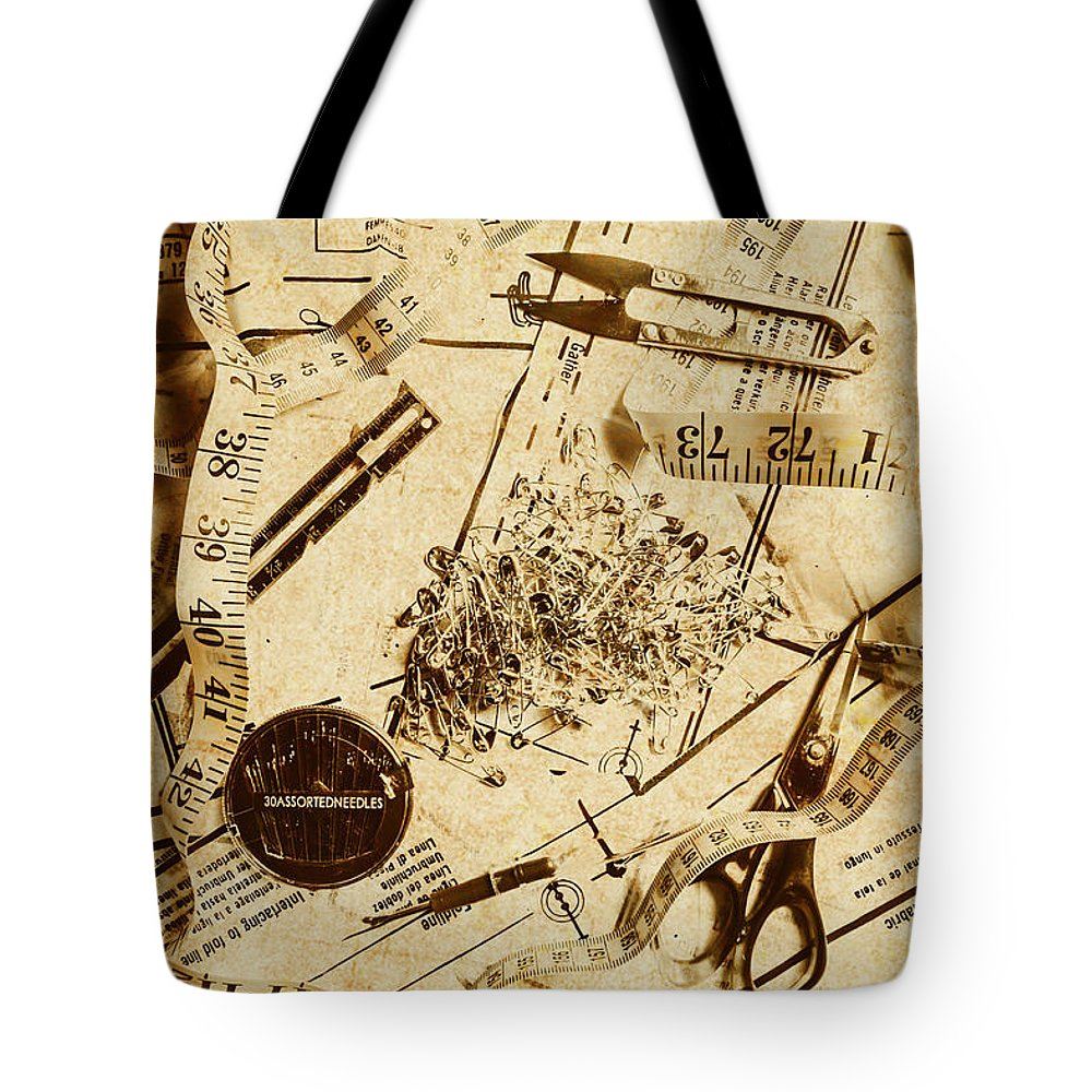 Sewing Pattern Tote Bags | Fine Art America