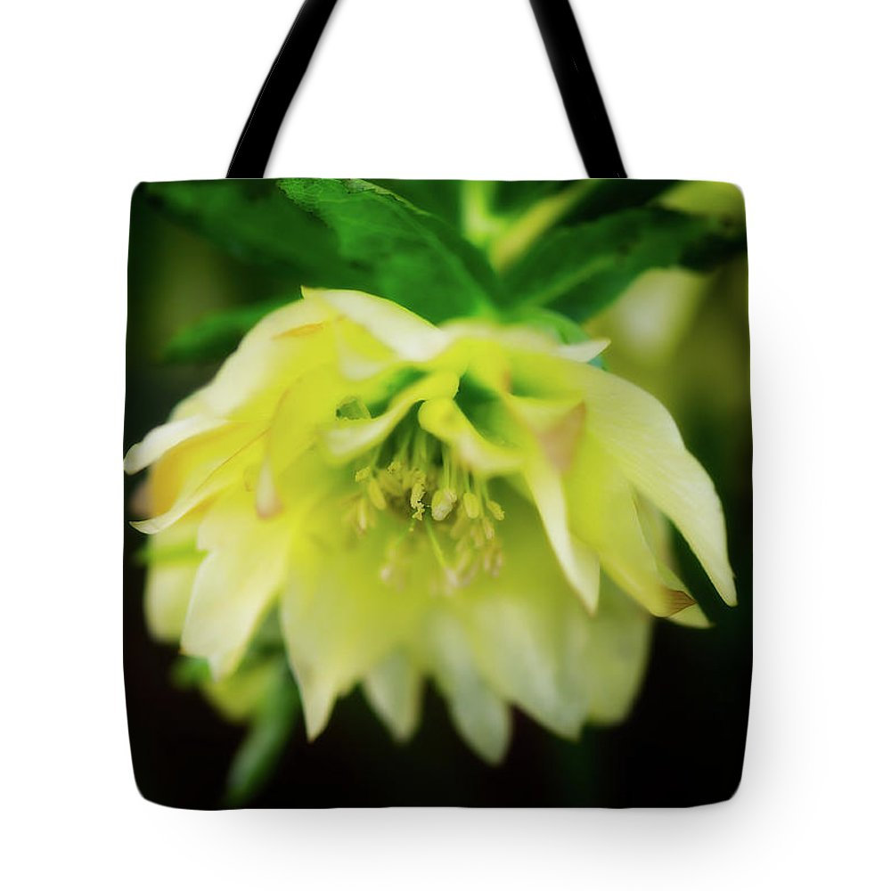 Botanical Tote Bag featuring the photograph In Her Secret Life by Venetta Archer