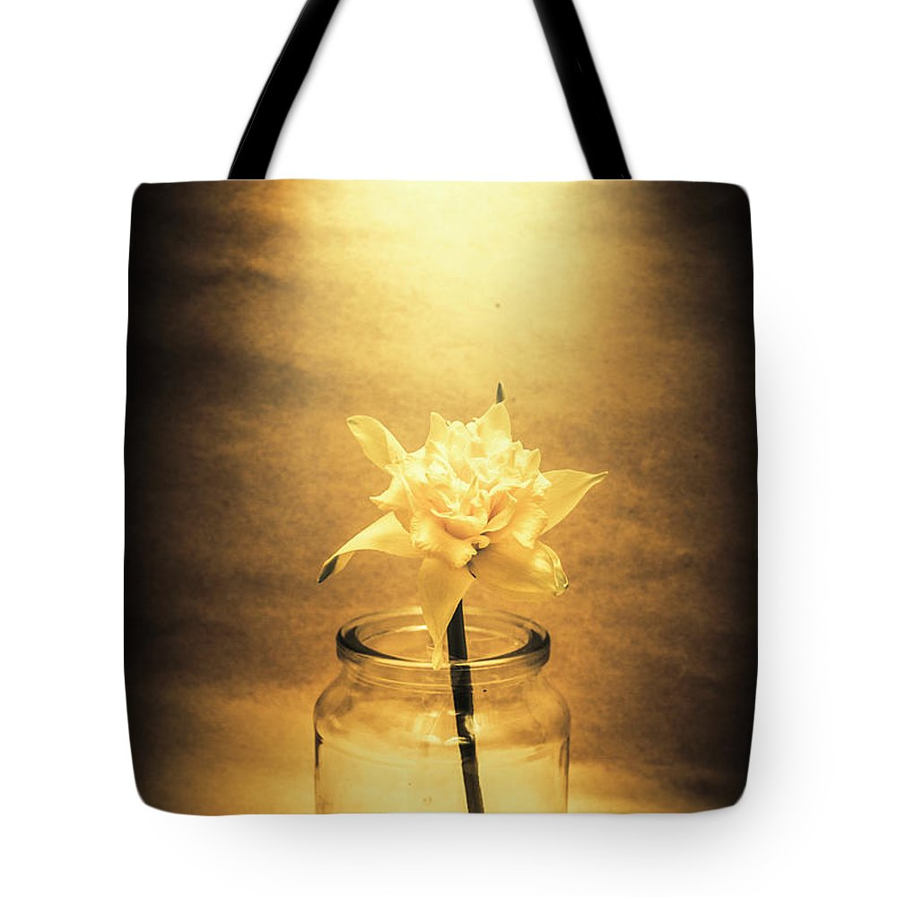 Flower Tote Bag featuring the photograph In Light Of Nostalgia by Jorgo Photography - Wall Art Gallery