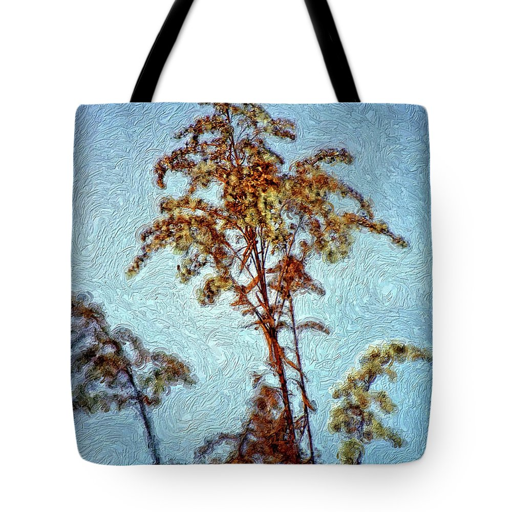Weed Tote Bag featuring the photograph In Praise Of Weeds II by Steve Harrington