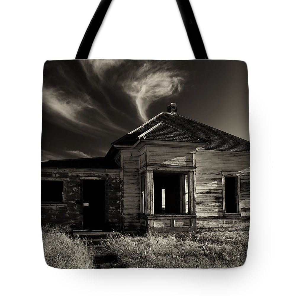 Ruin Tote Bag featuring the photograph In Ruin by Mike Dawson