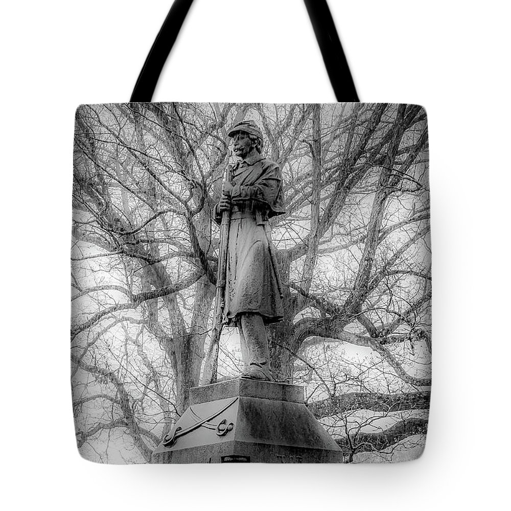 Tote Bag featuring the photograph In Stone by Kendall McKernon