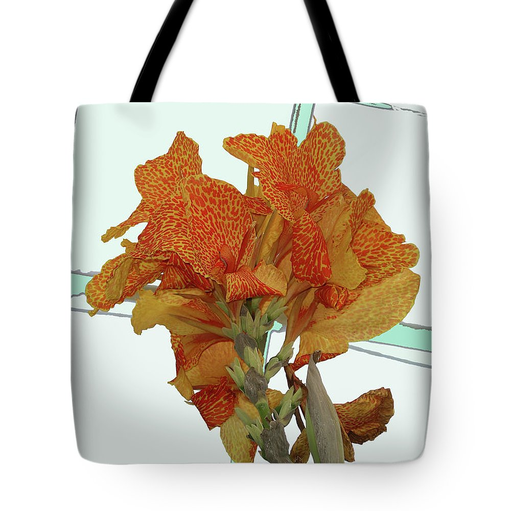 Flower Tote Bag featuring the photograph In The Conservatory by Rich Bodane