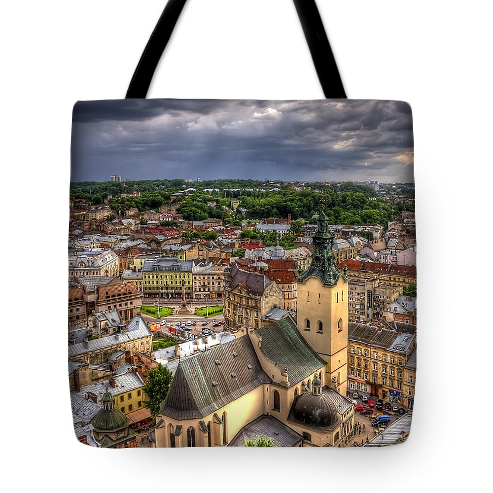 Overview Tote Bags