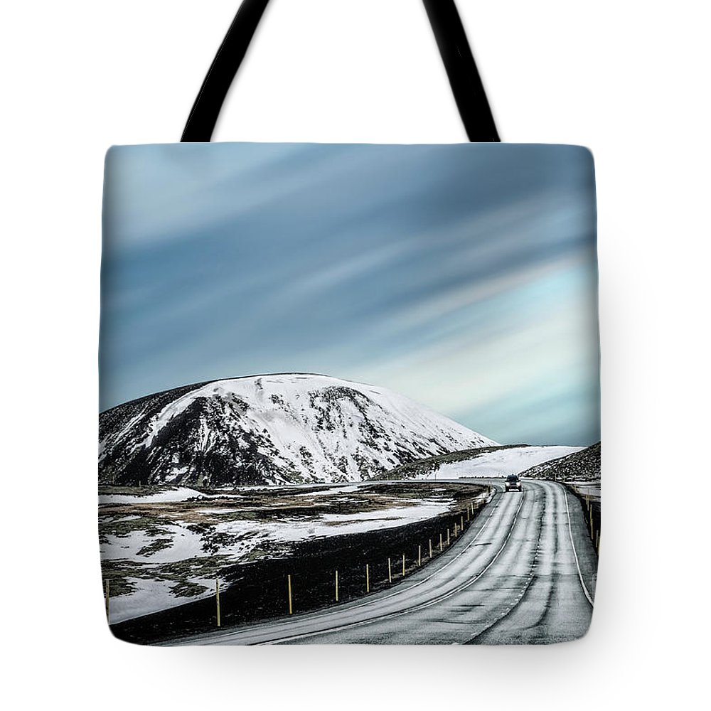 Kremsdorf Tote Bag featuring the photograph In The Long Run by Evelina Kremsdorf
