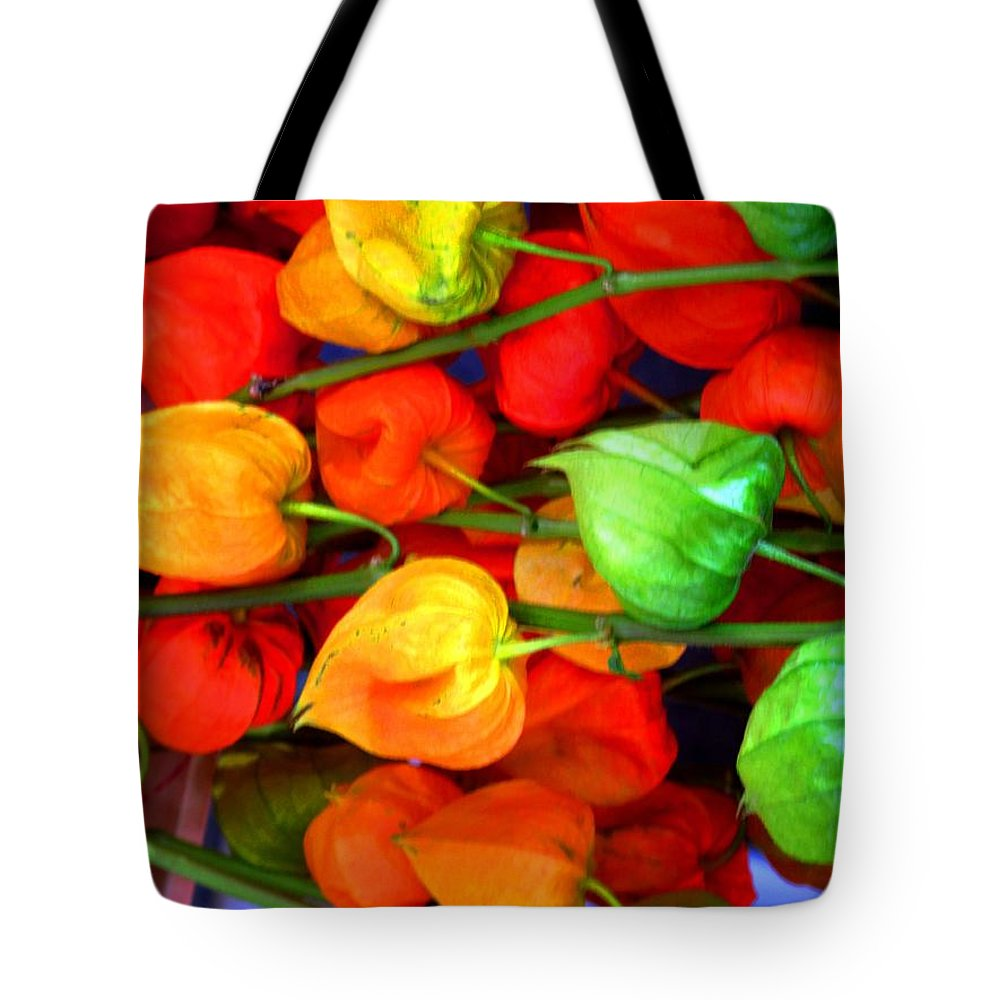 Market Tote Bag featuring the photograph In The Market by Ian MacDonald