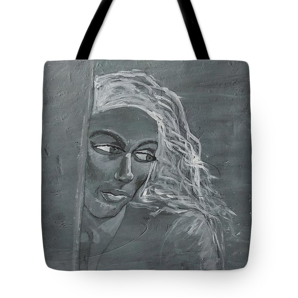 Women Tote Bag featuring the painting In The Moon Light by J Bauer