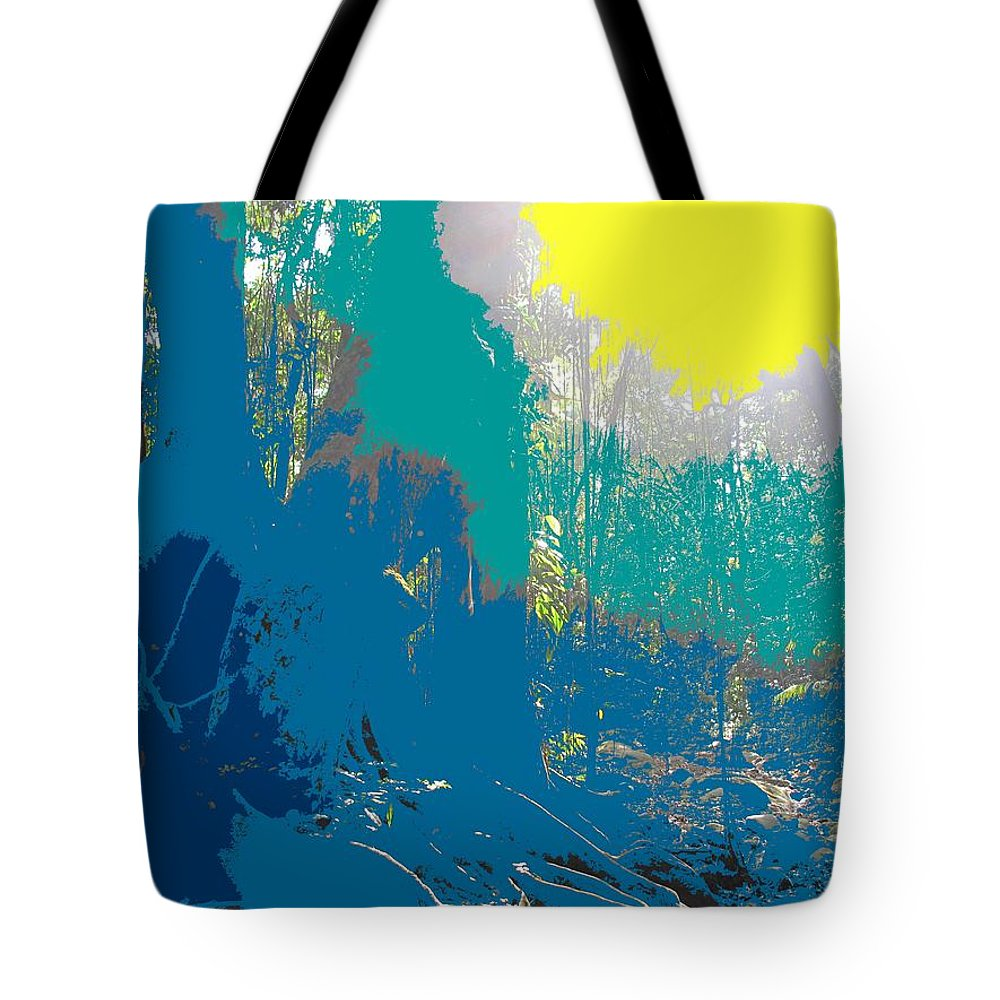 Rainforest Tote Bag featuring the photograph In The Rainforest by Ian MacDonald