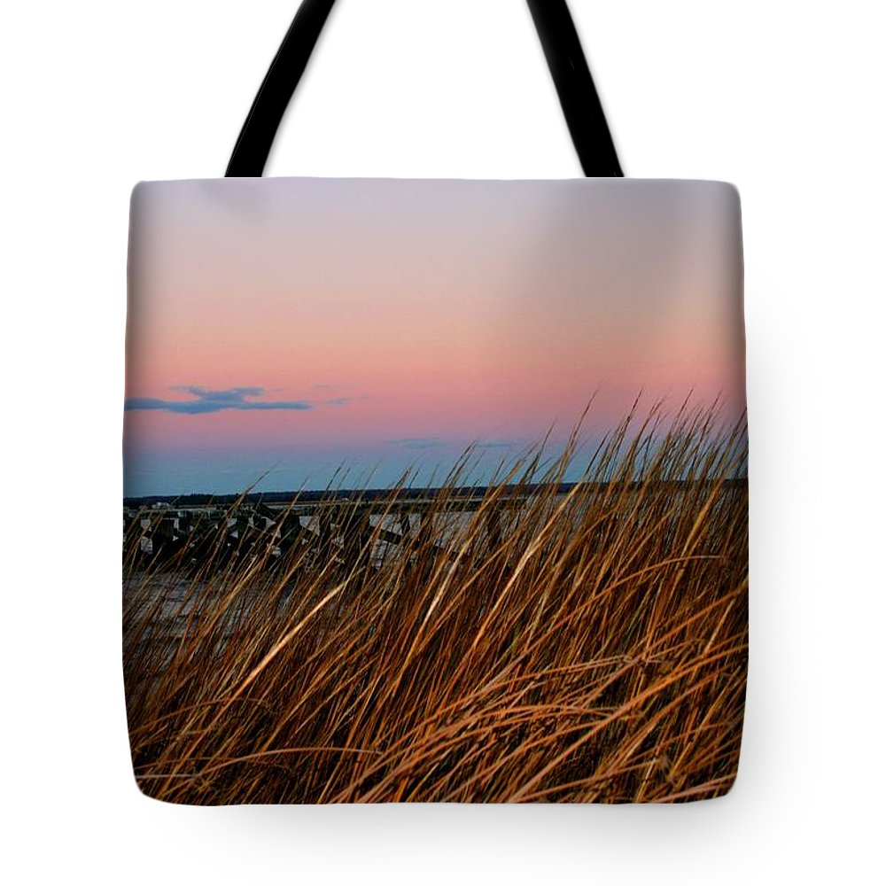 Rushes Tote Bag featuring the photograph In The Rushes by Pathways Life Coaching