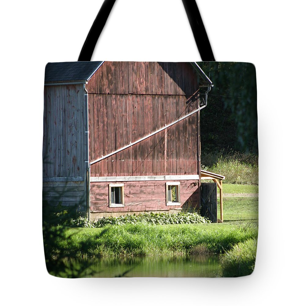 Barn Tote Bag featuring the photograph In The Sun by Bjorn Sjogren