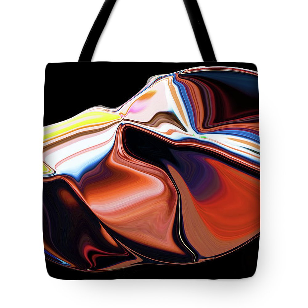 Modern Tote Bag featuring the digital art In The Womb by Ralf Nau