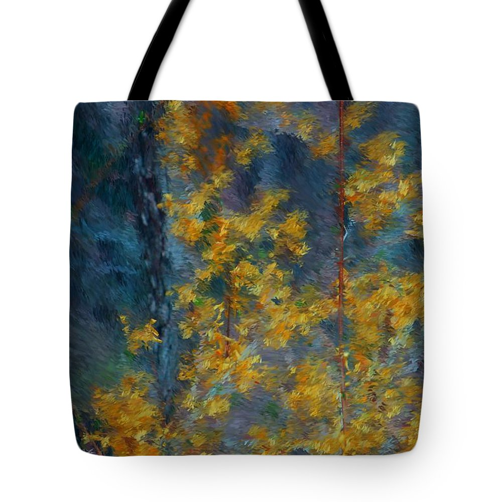 Tote Bag featuring the photograph In The Woods by David Lane