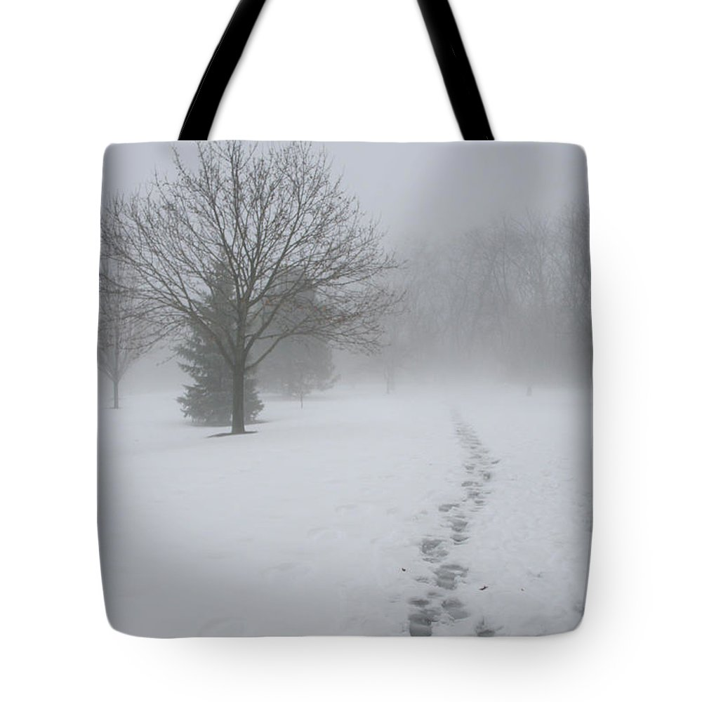 Landscape Tote Bag featuring the photograph In Their Steps by Dylan Punke