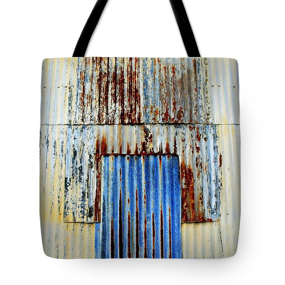 Skip Hunt Tote Bag featuring the photograph In Through The Out Door by Skip Hunt