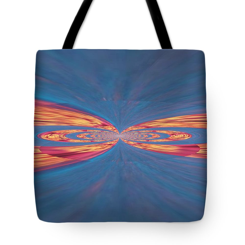 Shapes Tote Bag featuring the photograph In Touch by Kathy Bucari