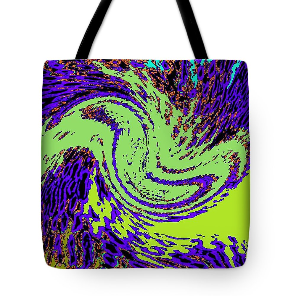 Coral Reefs Tote Bag featuring the digital art In Transition by Will Borden