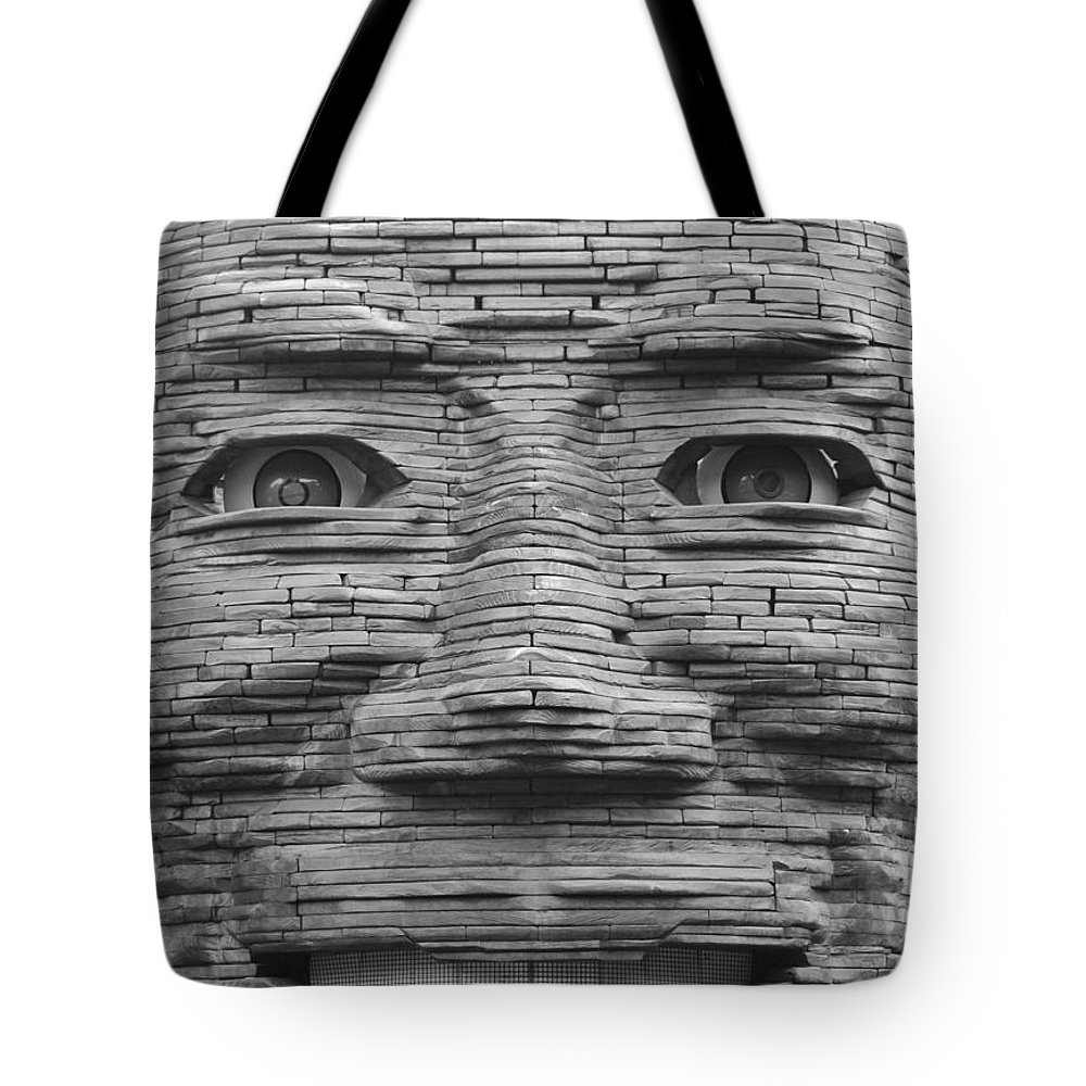 Architecture Tote Bag featuring the photograph In Your Face by Rob Hans