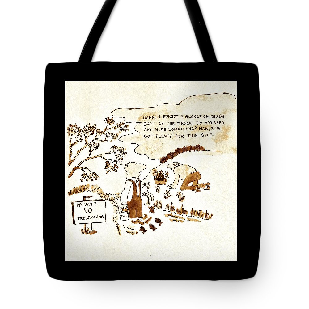 Farm Security Tote Bag featuring the painting Indangered Species by Larry Campbell