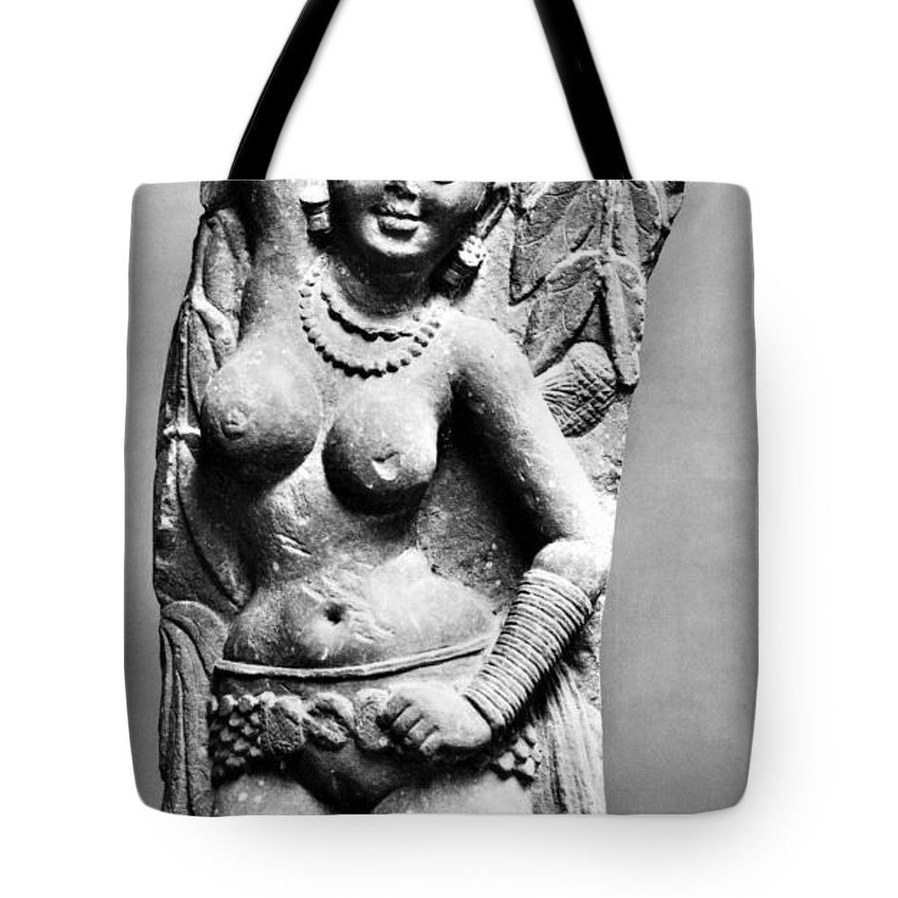 2nd Century Tote Bag featuring the photograph India: Jain Sculpture by Granger