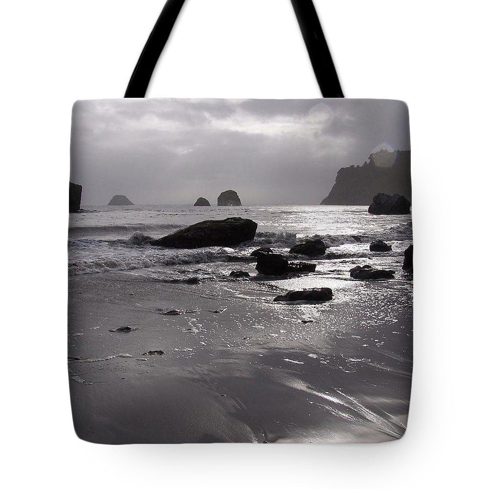 Beach Tote Bag featuring the photograph Indian Beach by Gale Cochran-Smith
