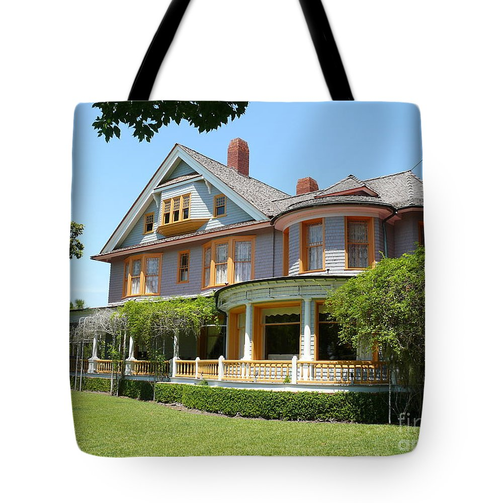 Indian Mound Tote Bag featuring the photograph Indian Mound by Katherine W Morse