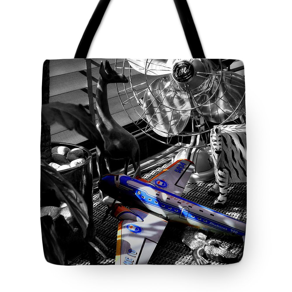 Fan Tote Bag featuring the photograph Indiana Jones And The Jungle Dream by Charles Stuart