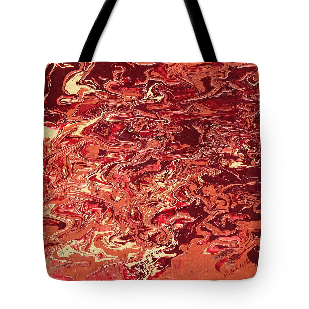 Fusionart Tote Bag featuring the painting Indulgence by Ralph White