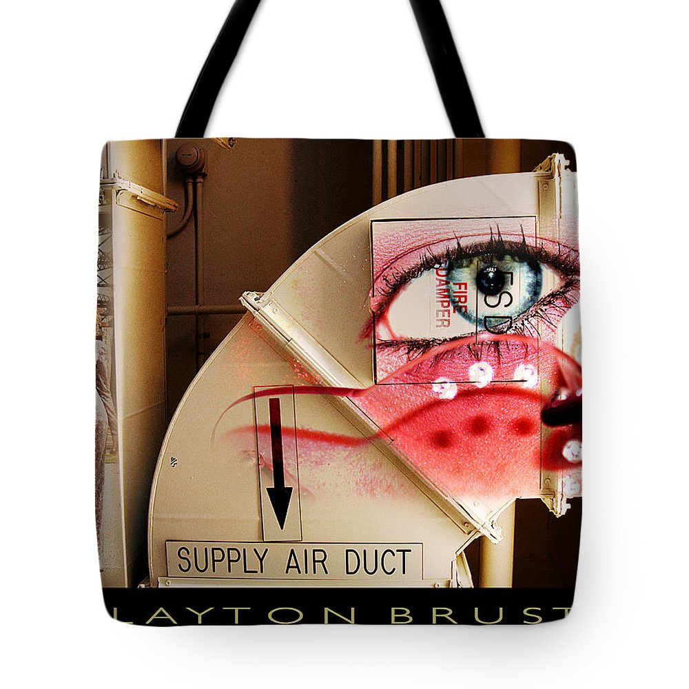 Tote Bag featuring the photograph Industrial Ceiling Dreams by Clayton Bruster