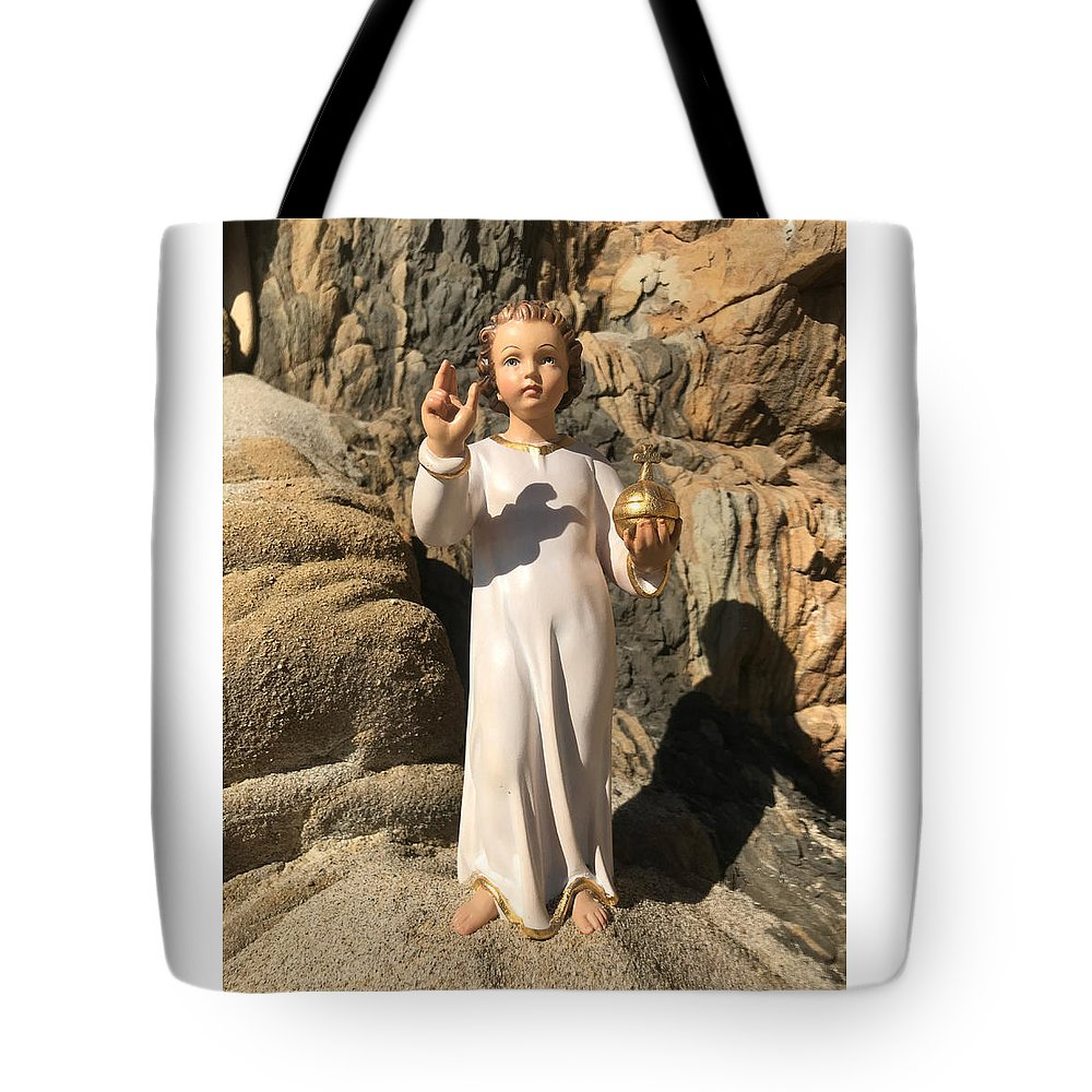 Photograph Tote Bag featuring the photograph Infant Jesus Of Prague by Walpurgis Muse