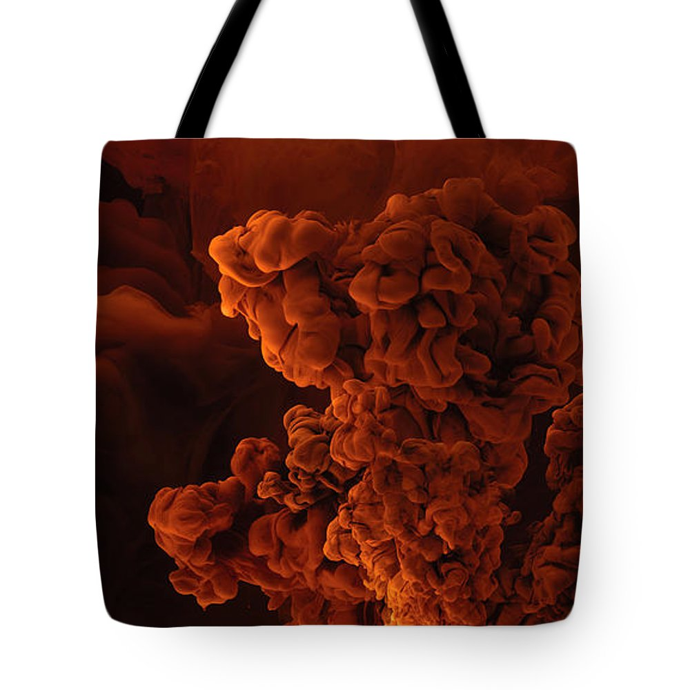 Aqueous Tote Bag featuring the photograph Inferno by David Thompson
