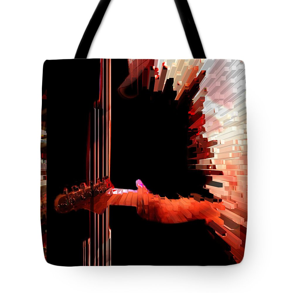Music Tote Bag featuring the photograph Inferno by Ken Walker