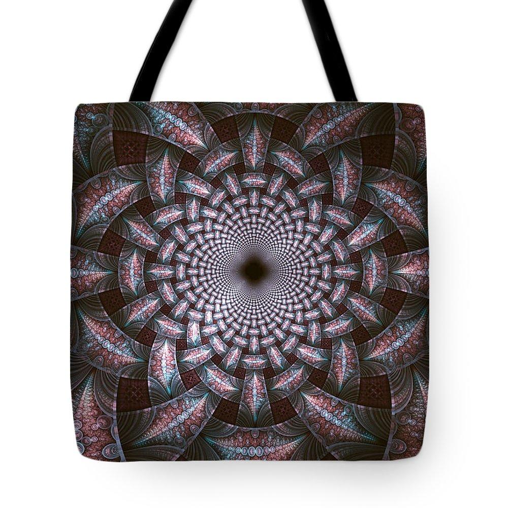 Elena Riim Tote Bag featuring the digital art Infinite by Elena Riim