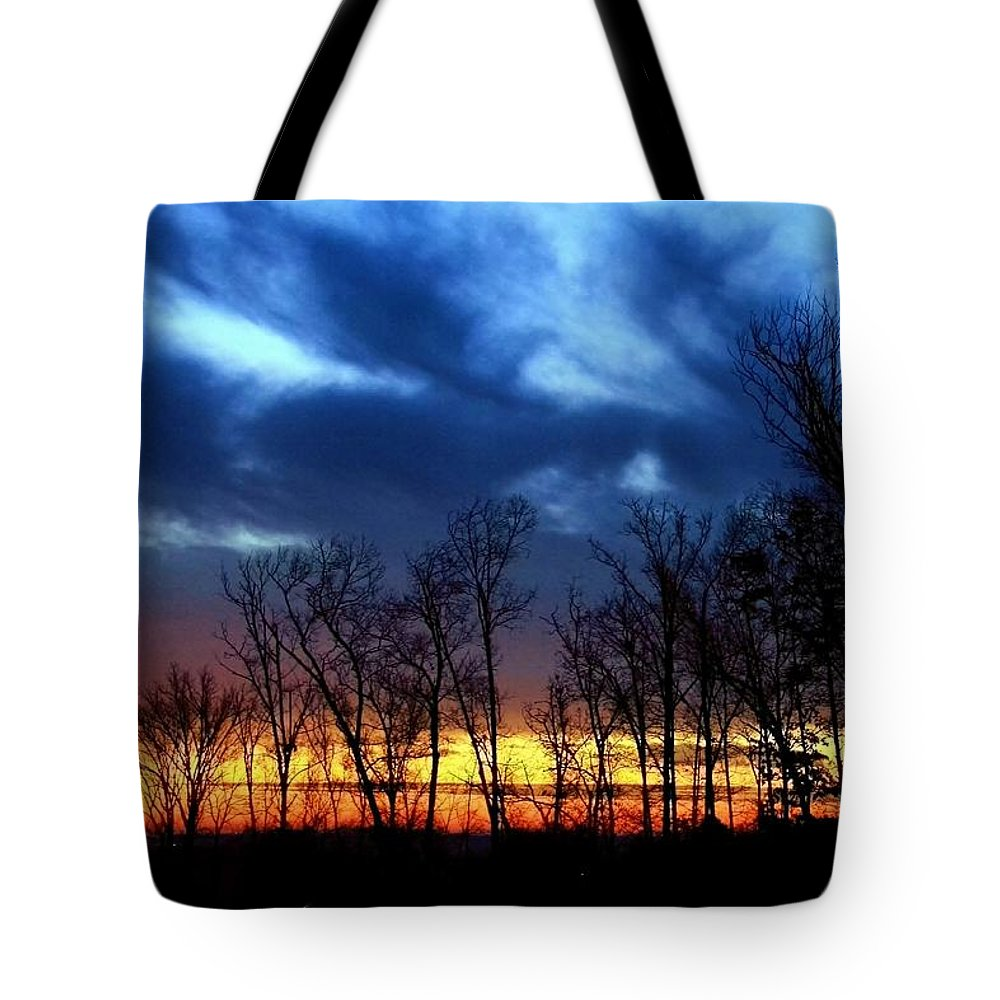 Sunrise Tote Bag featuring the photograph Infinite Expectation by Mitch Cat