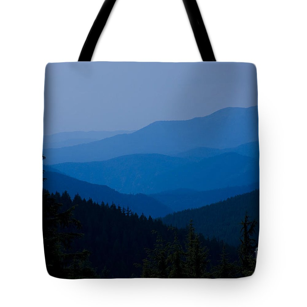 Mountain Tote Bag featuring the photograph Infinity by Idaho Scenic Images Linda Lantzy