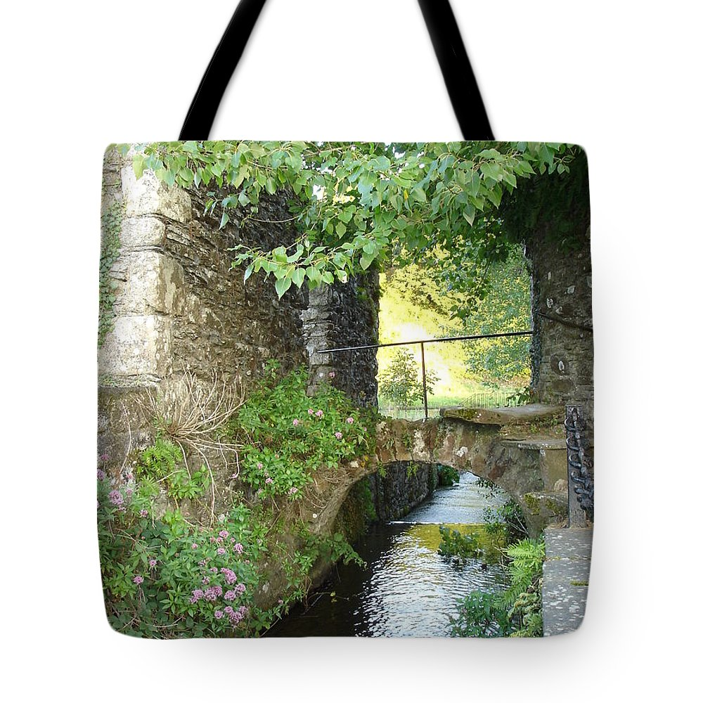Inistioge Tote Bag featuring the photograph Inistioge by Kelly Mezzapelle