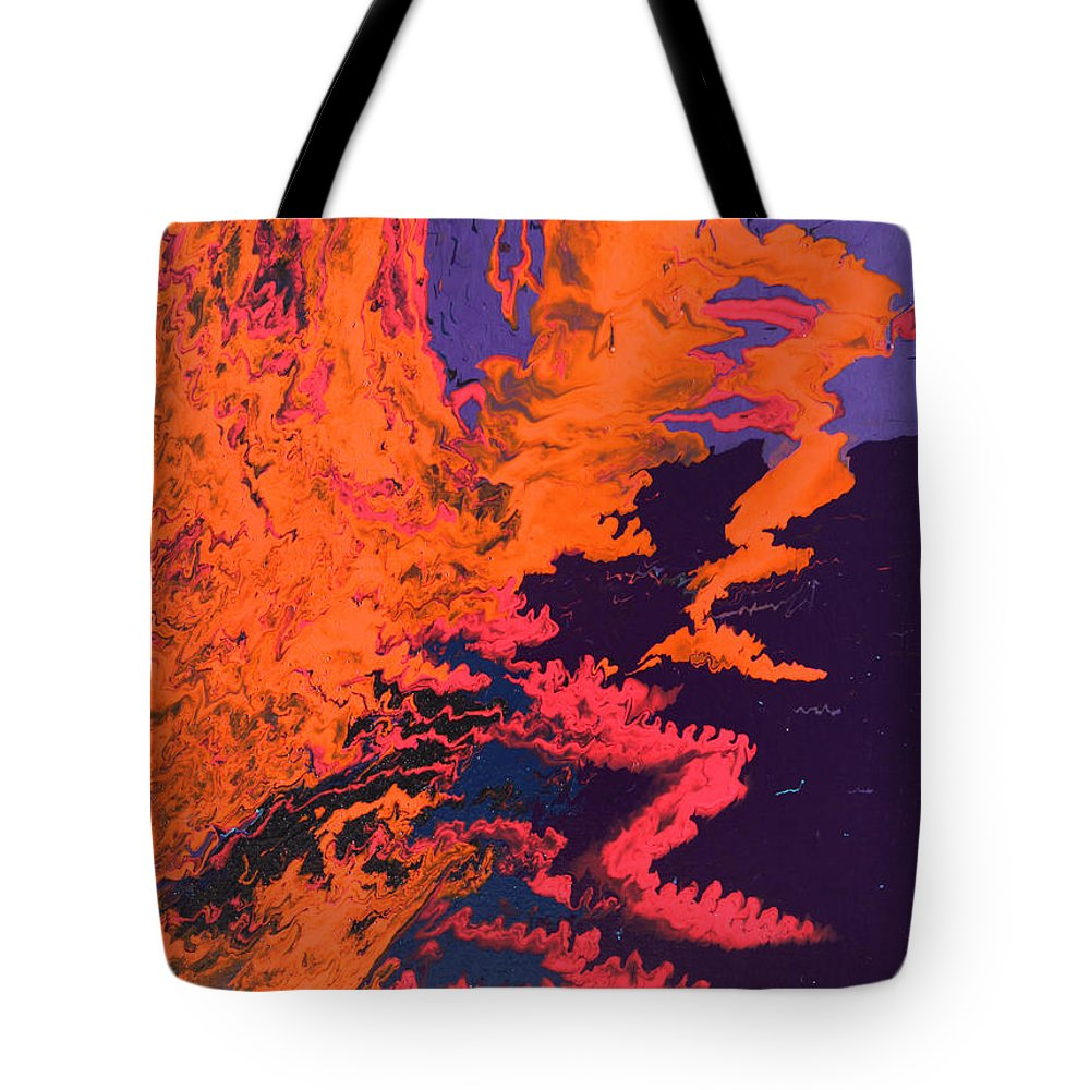 Fusionart Tote Bag featuring the painting Initiative by Ralph White