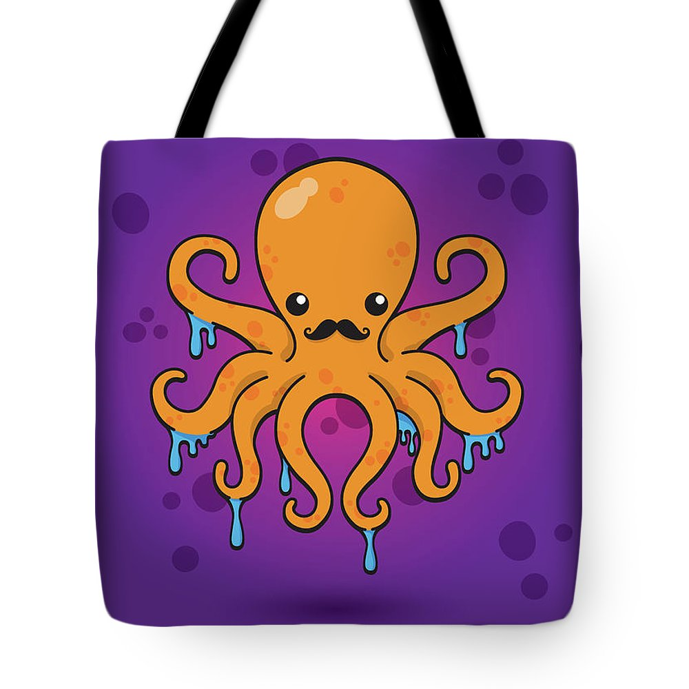 Octopus Tote Bag featuring the photograph Inky by Samuel Whitton