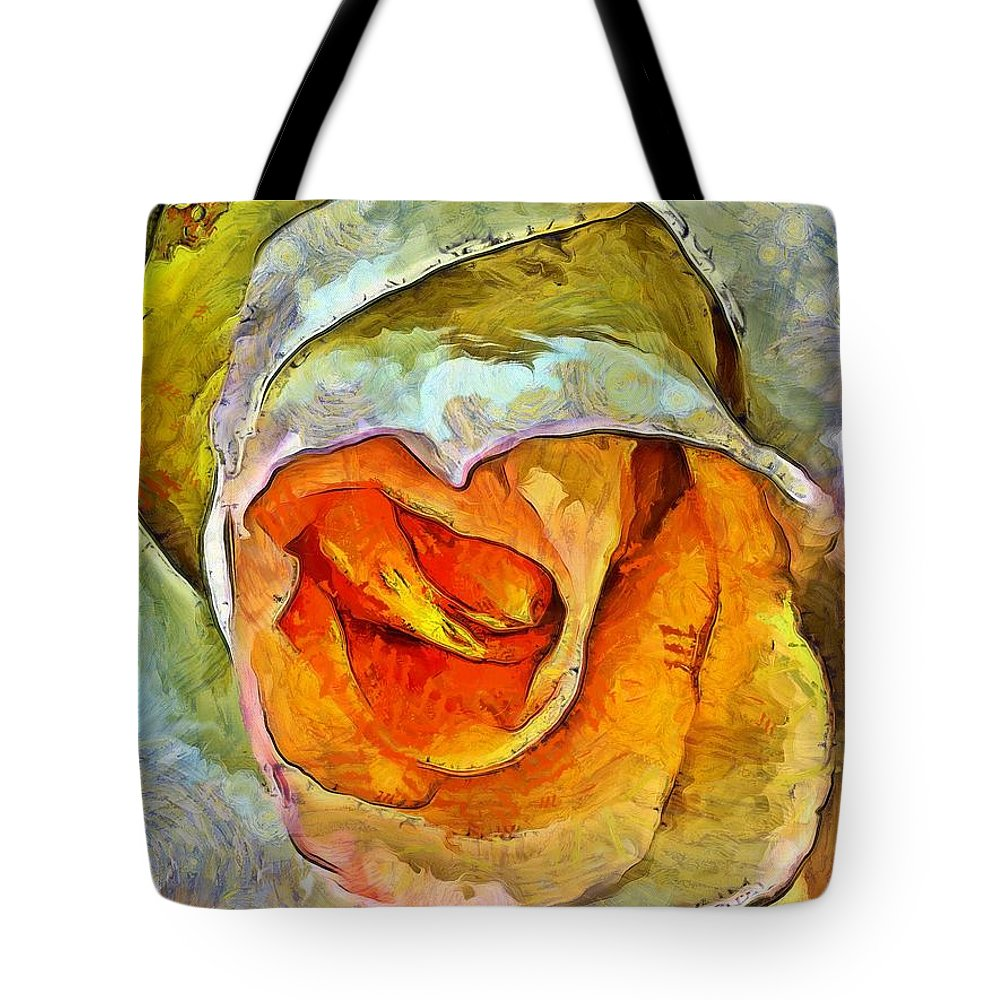 Rose Tote Bag featuring the photograph Inner Beauty by Krissy Katsimbras