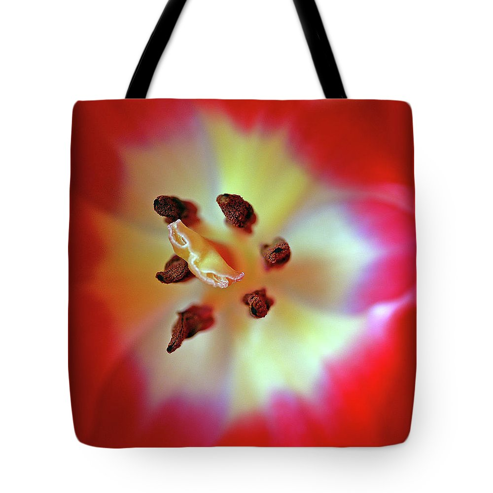 Tulip Tote Bag featuring the photograph Inner Spirit by Bill Morgenstern