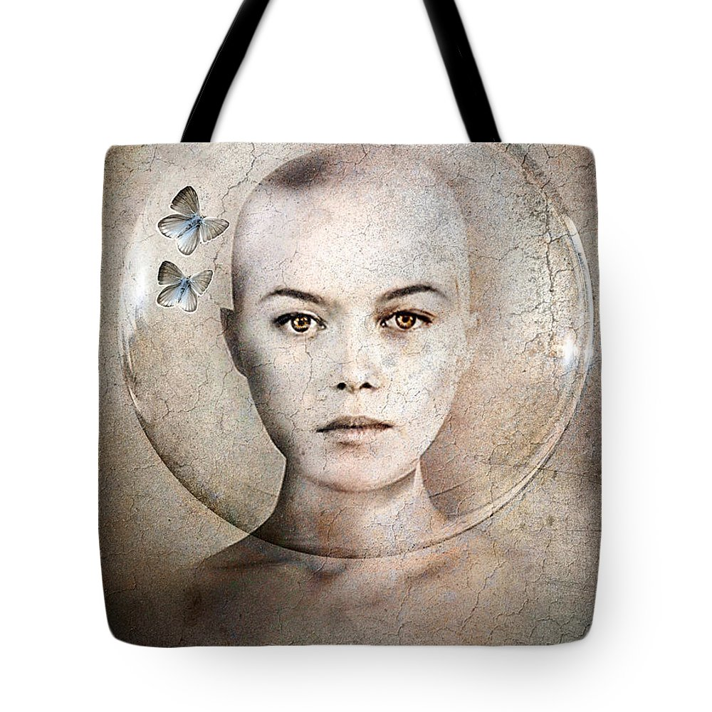 Photodream Tote Bag featuring the photograph Inner World by Jacky Gerritsen