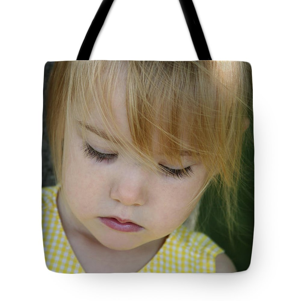 Angelic Tote Bag featuring the photograph Innocence II by Margie Wildblood