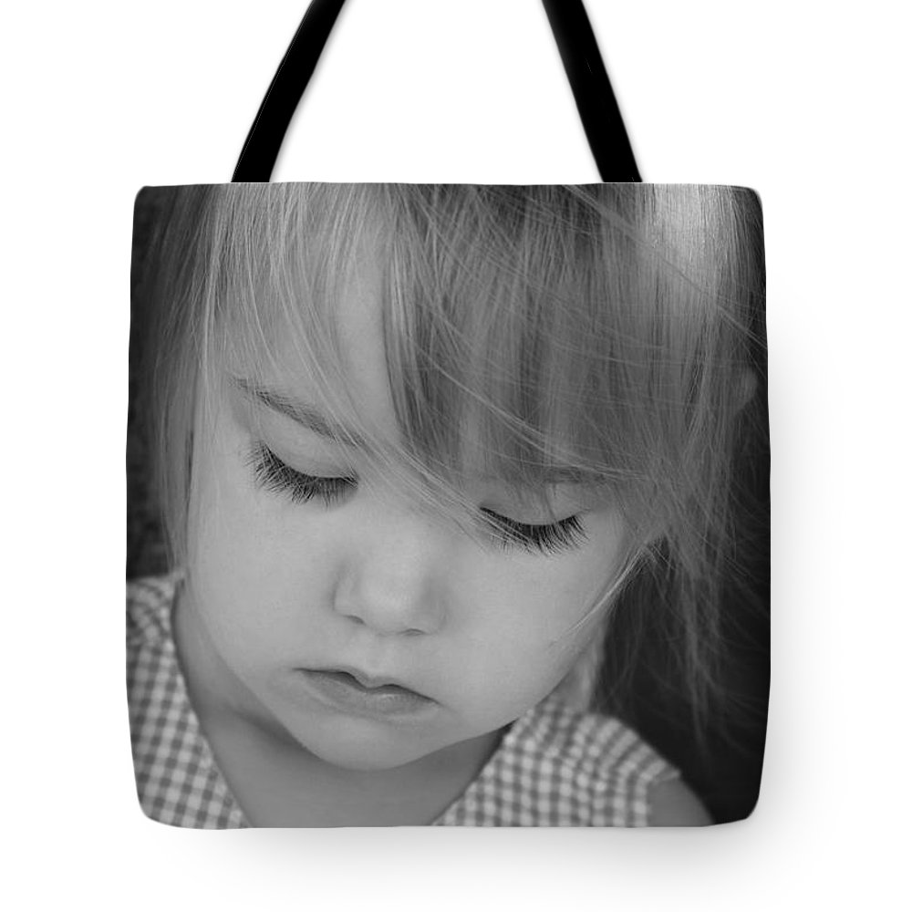 Angelic Tote Bag featuring the photograph Innocence by Margie Wildblood