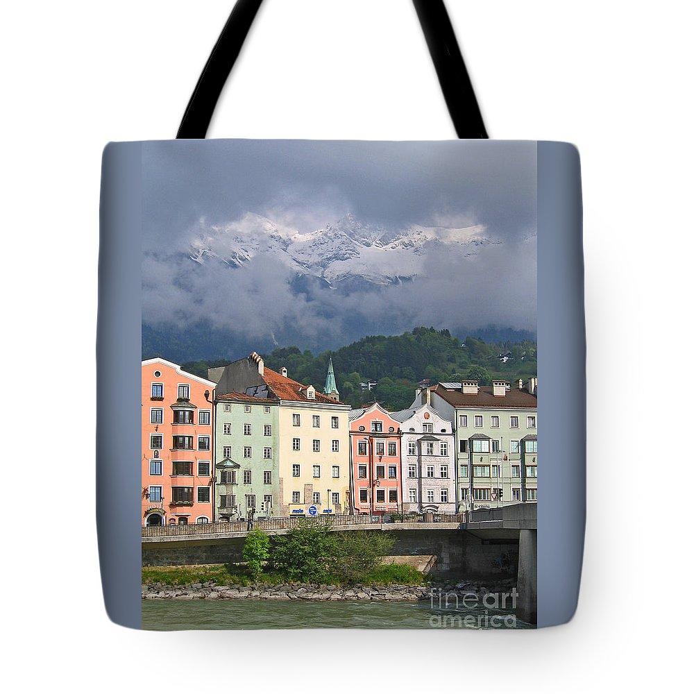 Innsbruck Tote Bag featuring the photograph Innsbruck by Ann Horn