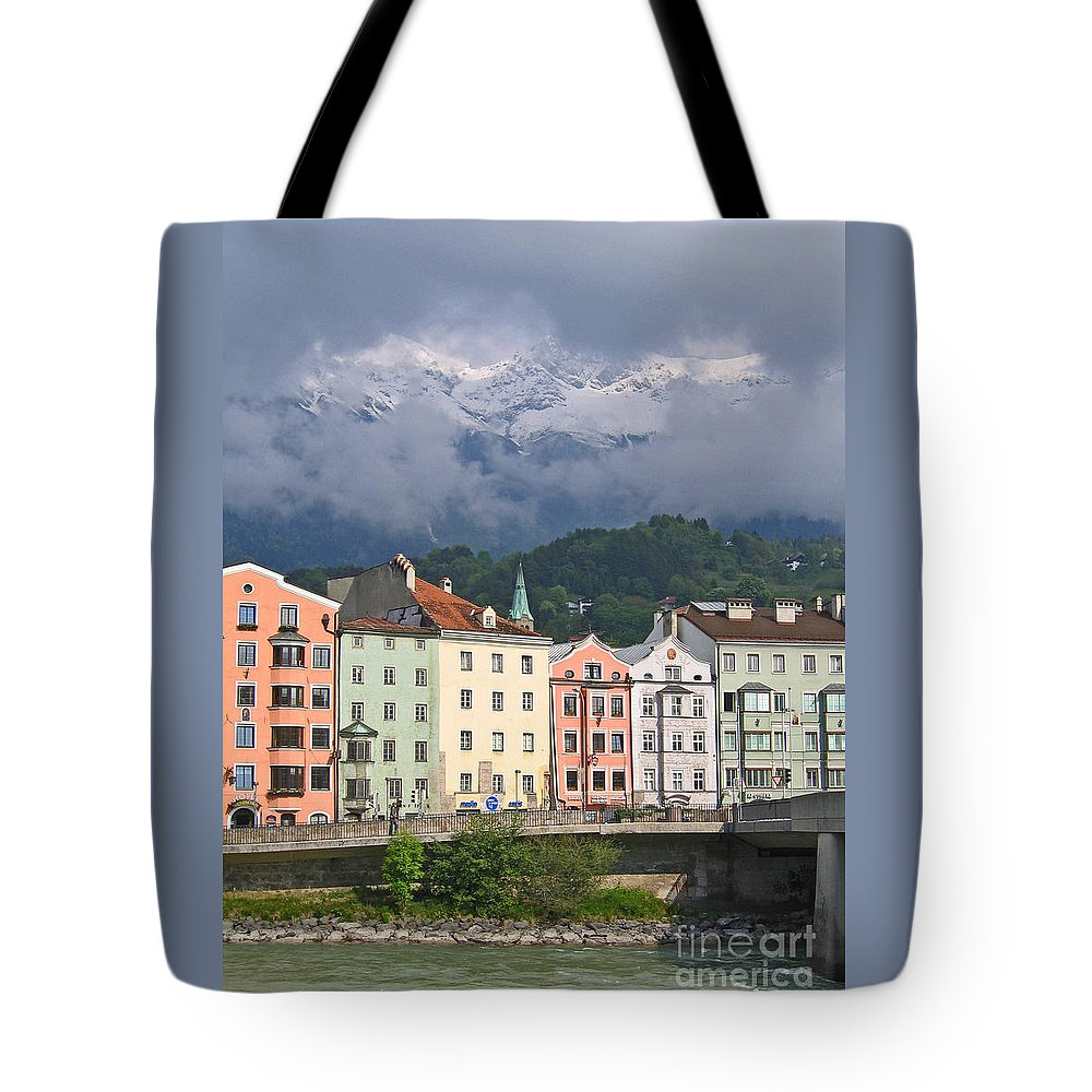 Innsbruck Tote Bag featuring the photograph Innsbruck by Ann Horn