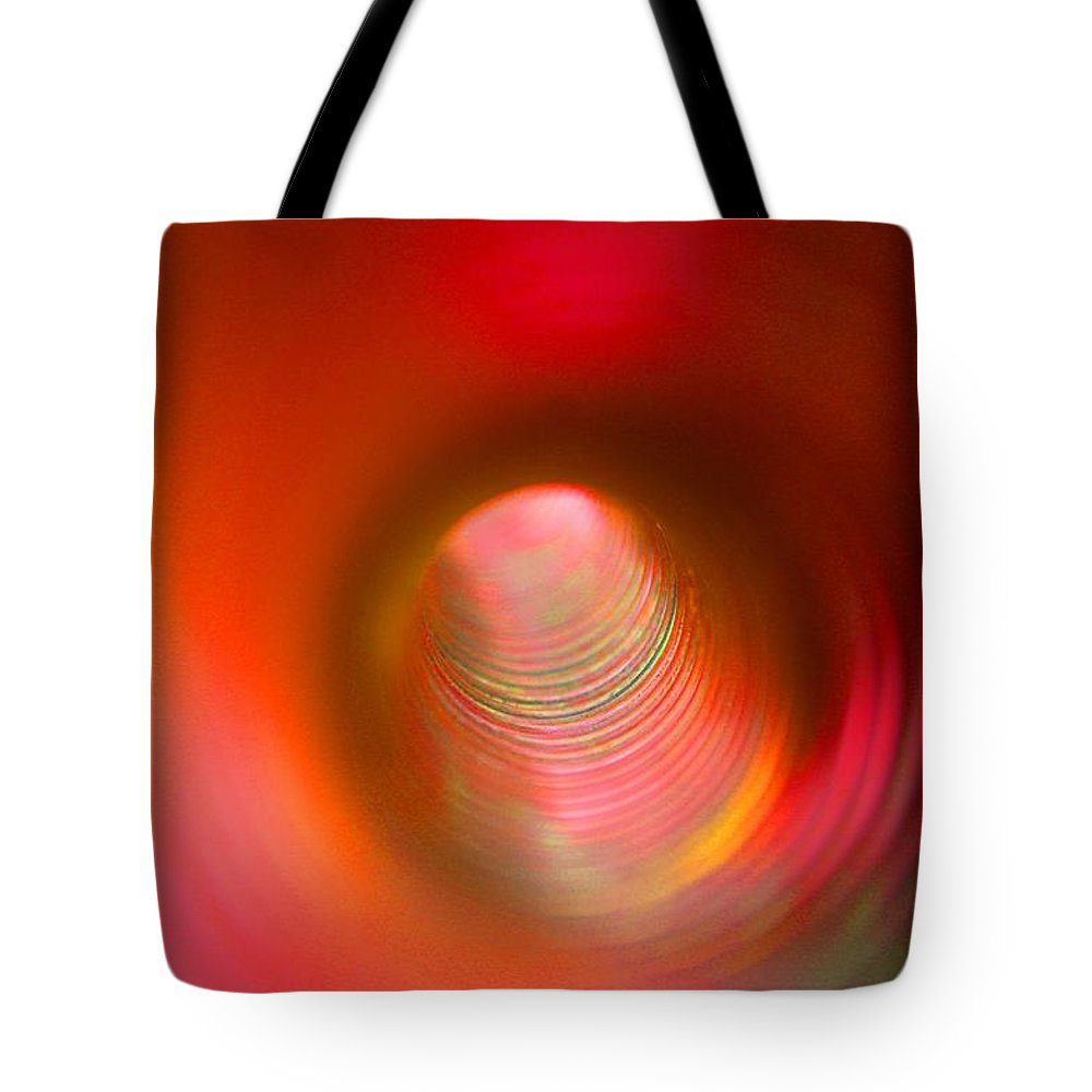 Spring Tote Bag featuring the photograph Inside Of Wind-pump Spring by Elton Oliver