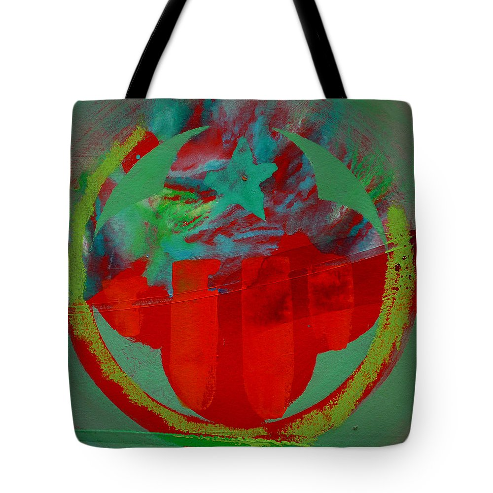 Usaaf Insignia Tote Bag featuring the painting Insignia by Charles Stuart
