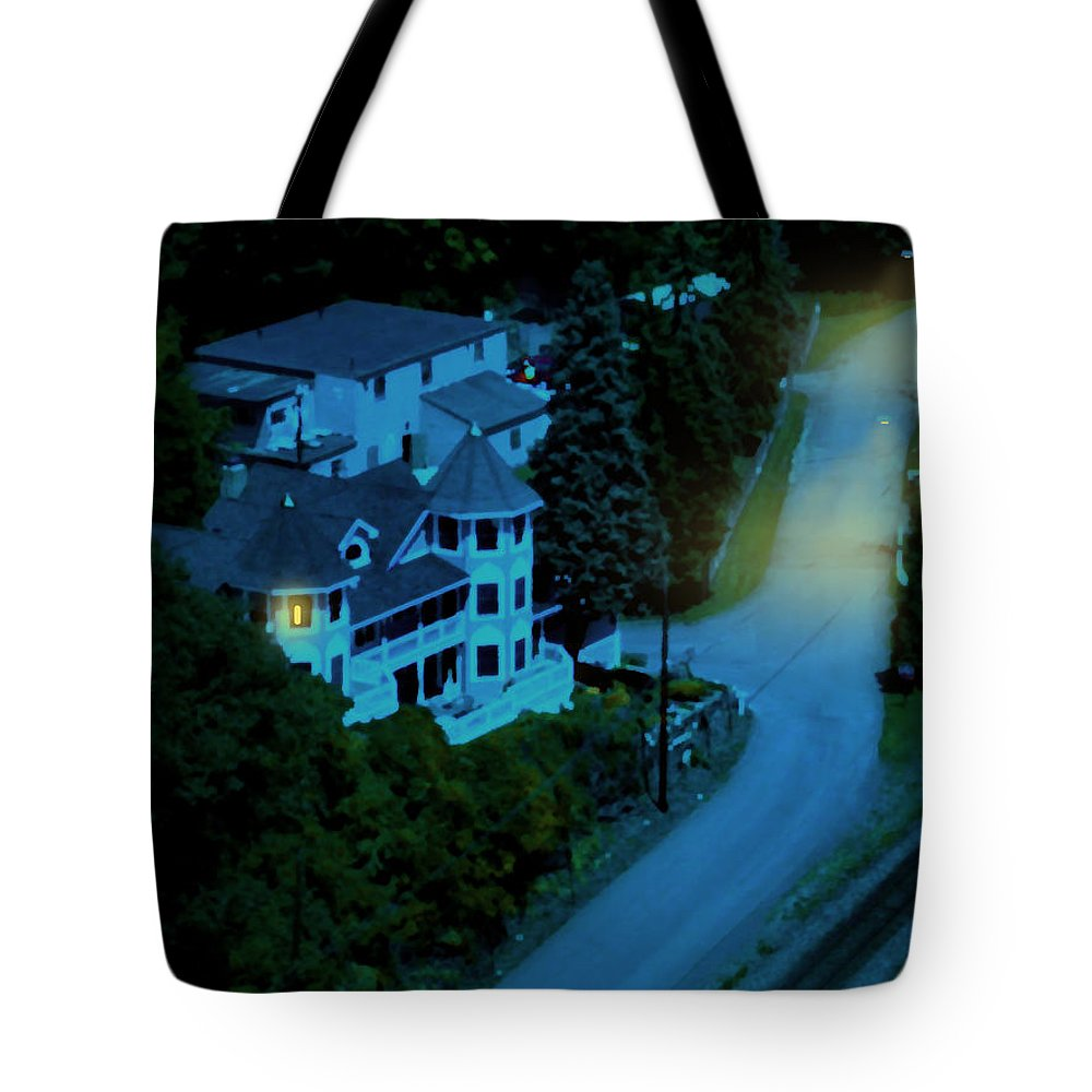 Evening Tote Bag featuring the painting Insomnia by Paul Sachtleben