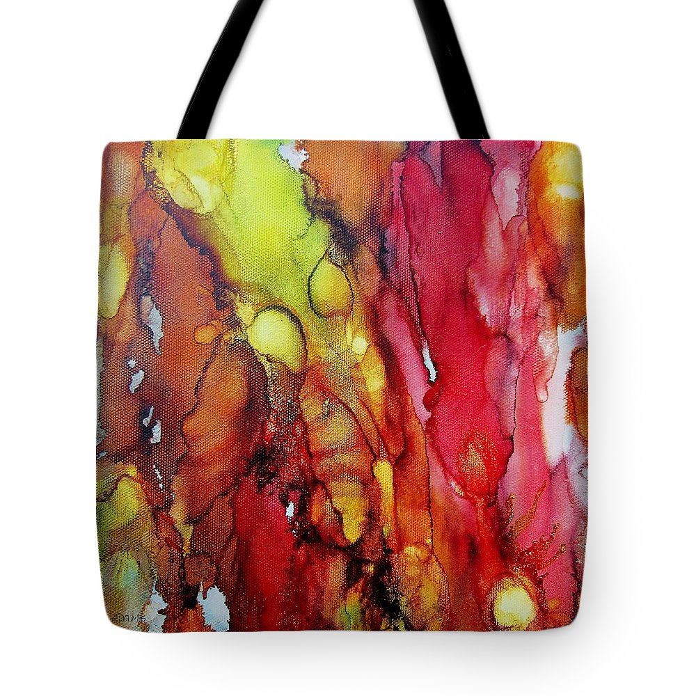 Painting Tote Bag featuring the painting Inspiration by Louise Adams