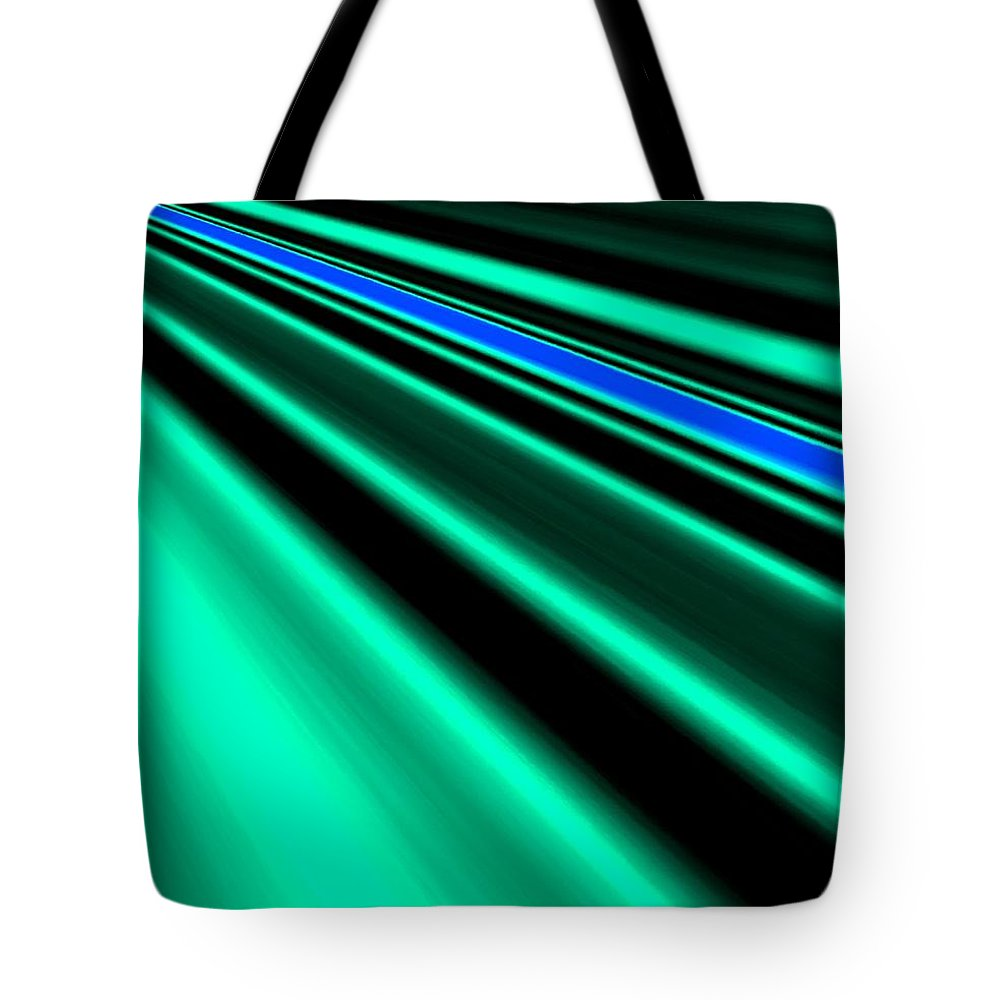 Abstract Tote Bag featuring the digital art Inspiration by Will Borden