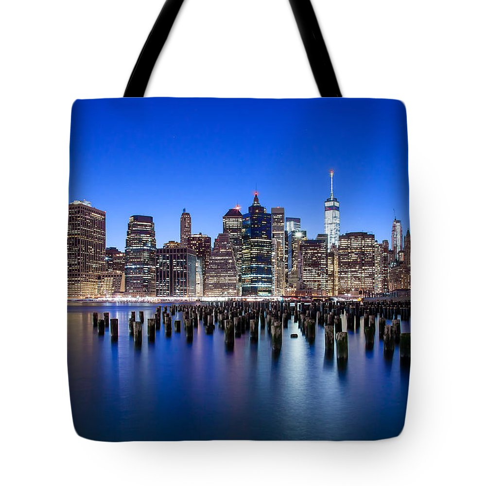 New York City Tote Bag featuring the photograph Inspiring Stories by Az Jackson